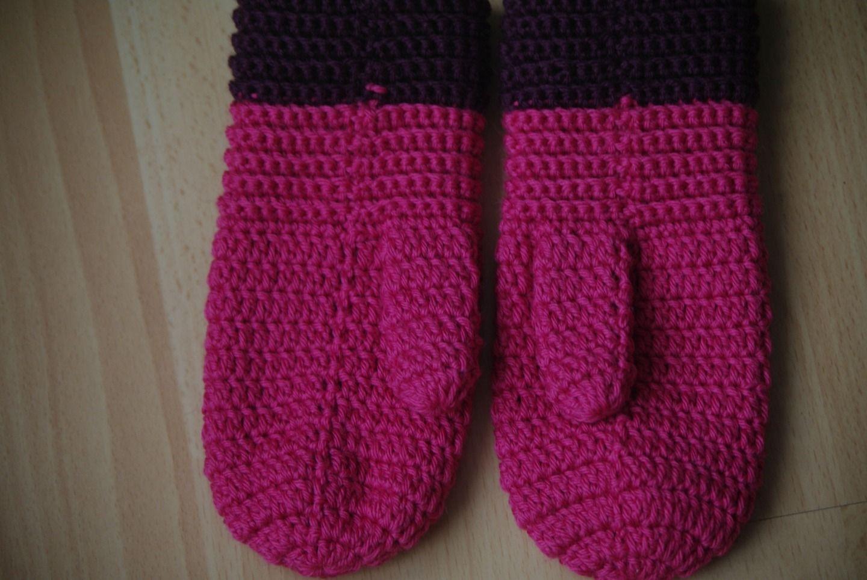 60% de réduction grandes marques esthétique de luxe 3 - Patron tutoriel de moufles enfants au crochet tailles 3 ...