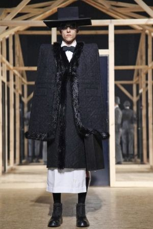 Thom Browne Fall Winter Menswear 2013 Paris