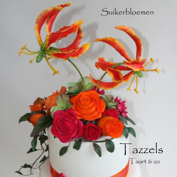 tazzels taart en zo Foto's   Tazzels Taart & zo   The art of sugarflowers   Pinterest tazzels taart en zo
