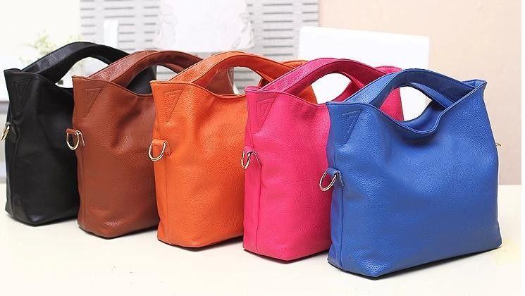 Torebka Kuferek Rozowa Niebieska Brazowa Skora 5100793215 Oficjalne Archiwum Allegro Leather Shoulder Bag Leather Shoulder Bag Woman Leather