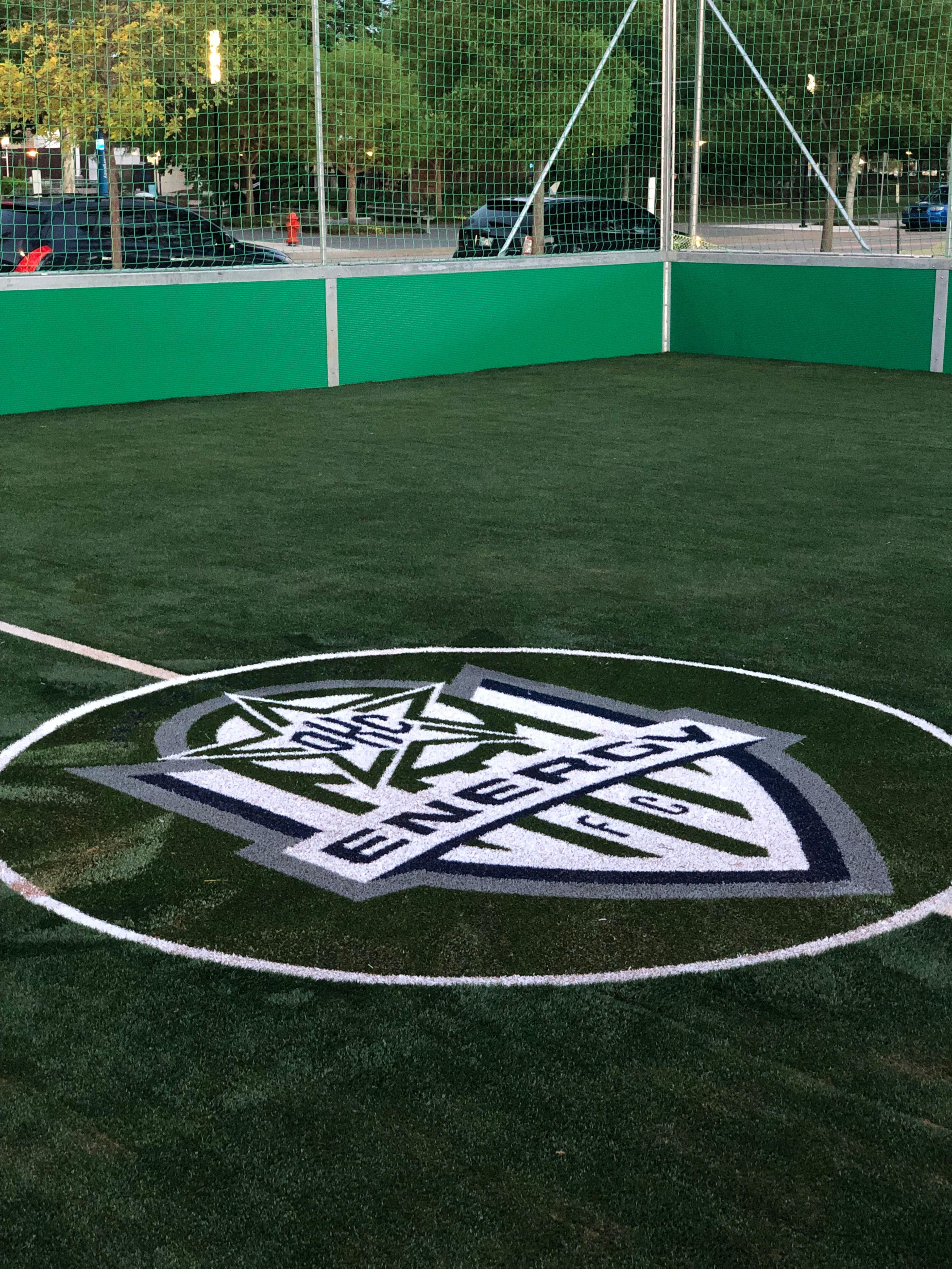Put Your Logo On Your Field Street Soccer Soccer Soccer Room
