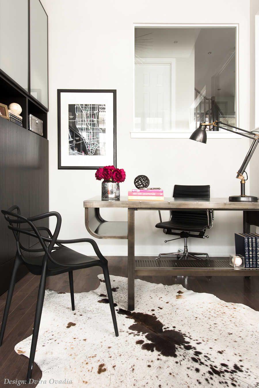 Interior Designer Dvira Ovadia Shares 6 Secrets To Creating A Home Office  Space That Inspires U003e