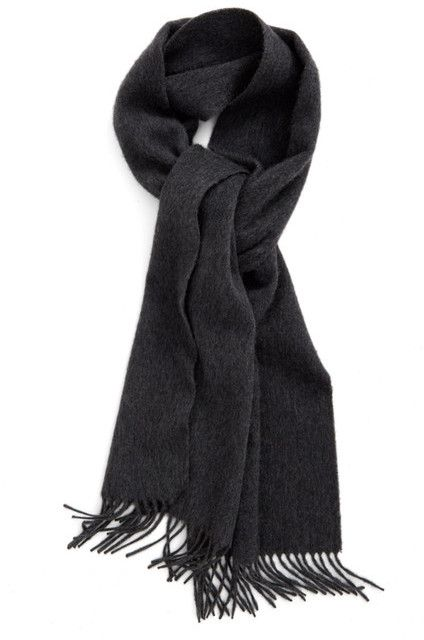 7162591a1 Solid Cashmere Scarf | Products | Cashmere scarf, Mens cashmere ...