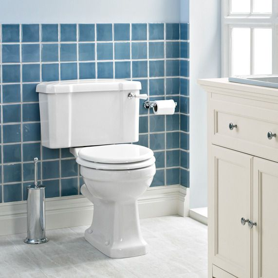 Awe Inspiring Savoy Edwardian Close Coupled Toilet Excluding Seat The Short Links Chair Design For Home Short Linksinfo