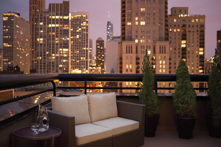 Balcony Thompson Chicago