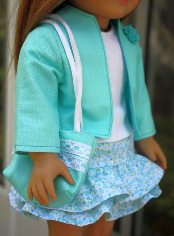 free doll clothes patterns for 18 inch dolls | such a cute outfit ...