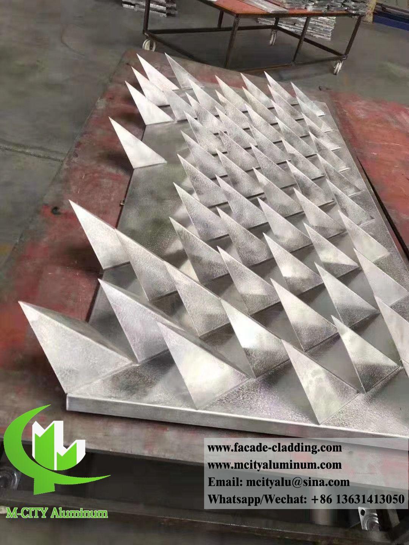 3d Design Metal Facade Customized Aluminum Panel Facade Sheet Metal Cladding Metal Cladding Metal Panels Aluminium Cladding