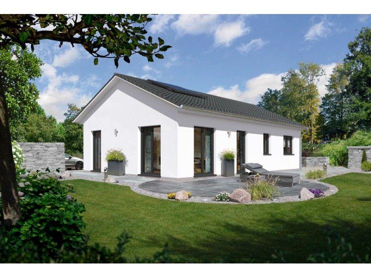 Bungalow 100 einfamilienhaus von town country haus for Bungalow modern satteldach