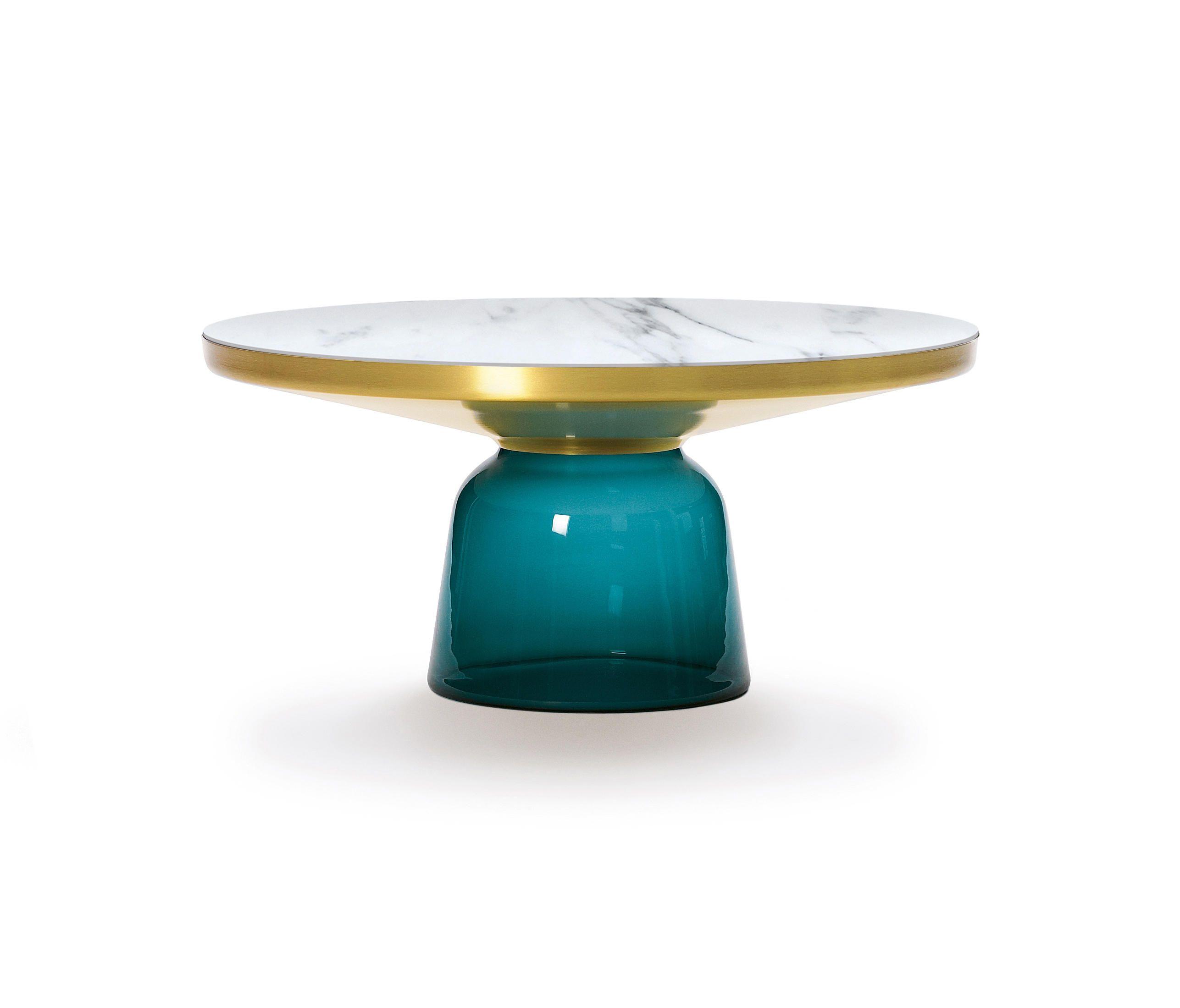 Bell Coffee Table Brass Marble Blue Couchtische Von Classicon Architonic Couchtisch Marmor Wohnzimmertische Couchtische