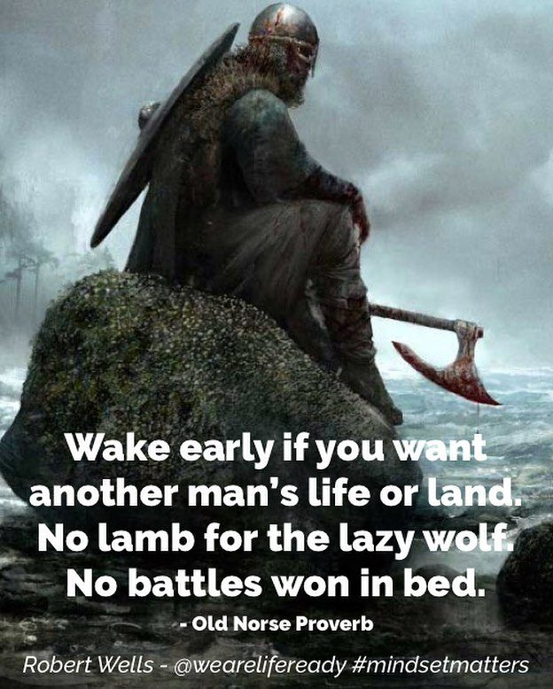 I Love This Quote. #norse #norsemythology #vikings #viking  #MotivationalQuotes #