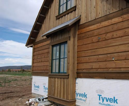 Cedar Hewn Wavy Edge Siding Specialty Wood Products Exterior House Siding Mountain Home Interiors Tiny House Exterior