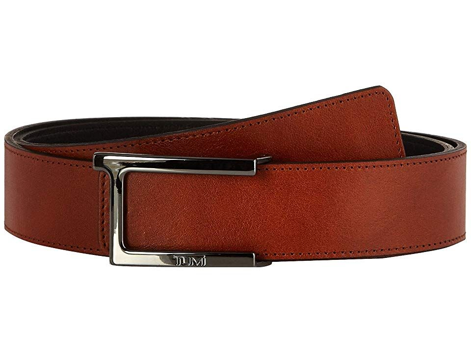 Tumi T Buckle Leather Reversible Belt GunmetalReversible Mens Belts The Tumi T Buckle Leather Reversible Belt is functional and handsome Made of genuine leather Silverton...