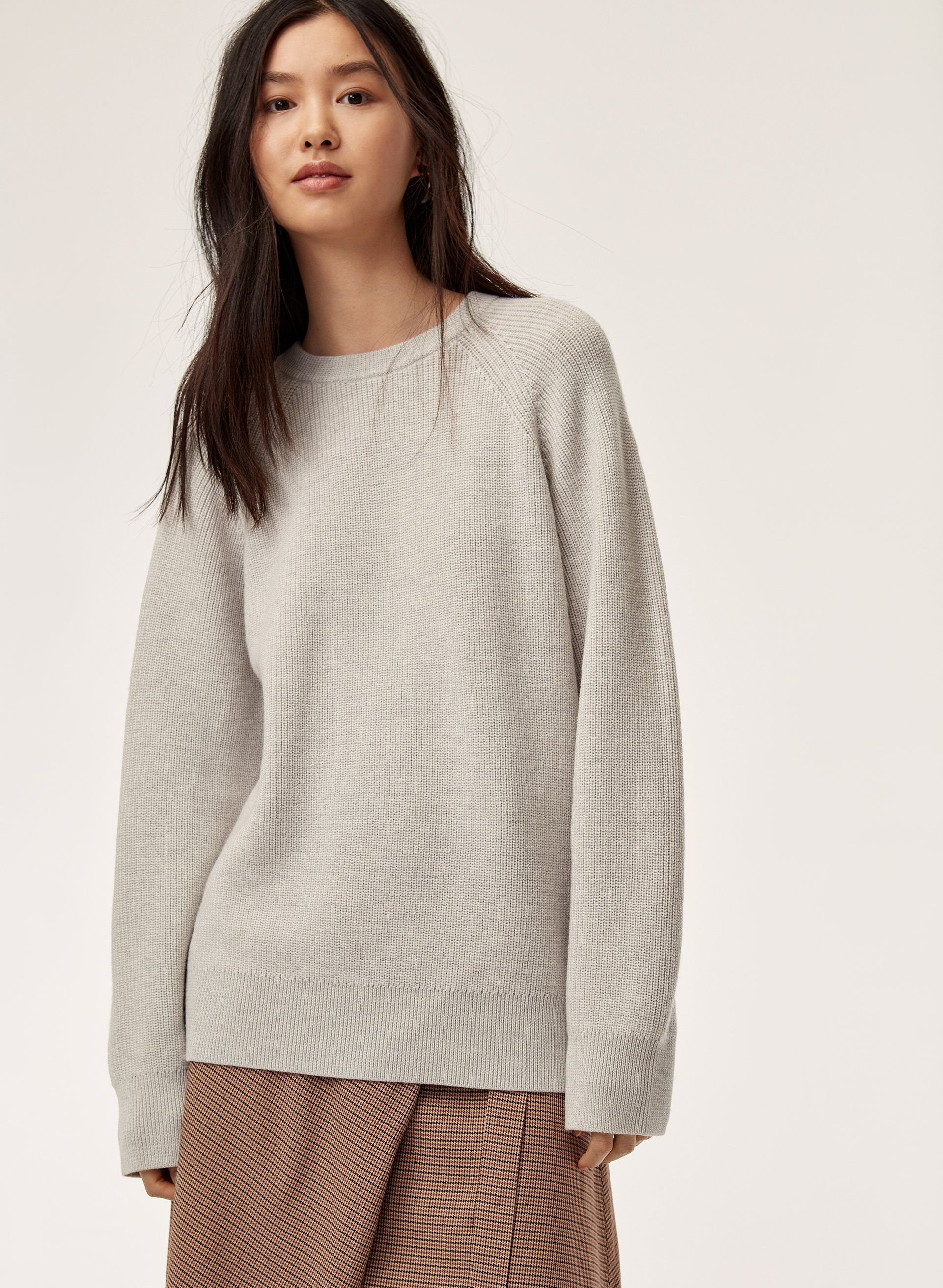 Find Shoppingfab hm rib knit sweater recommend to wear in winter in 2019