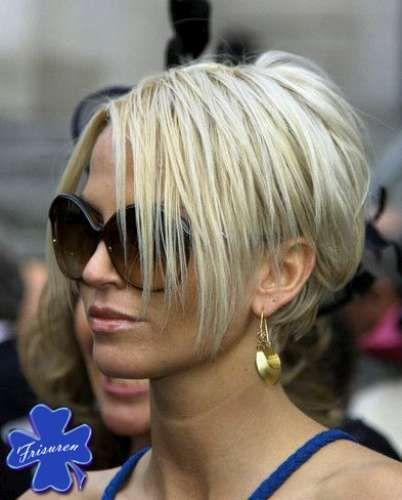 Kurzhaarfrisuren 2014 Damen Dunkel Crown Hair Frisuren Kurz