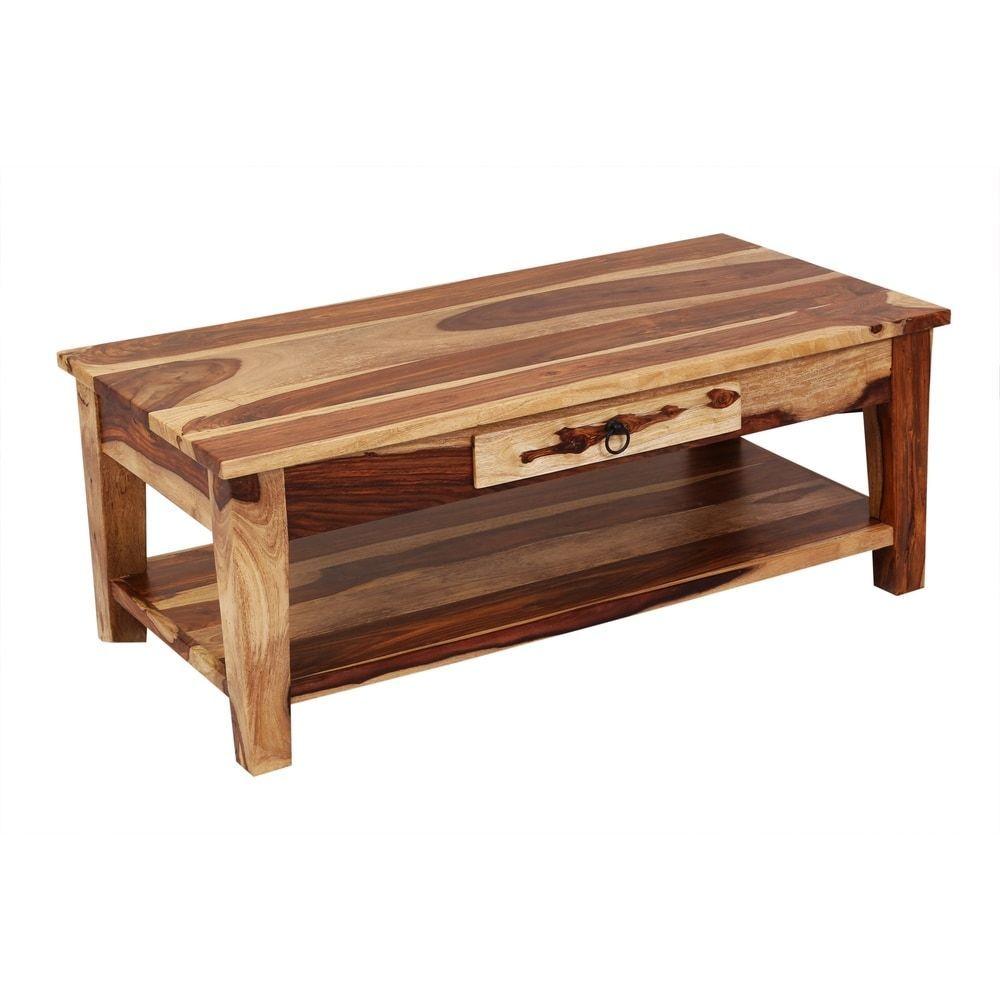 Taos Solid Sheesham Wood Coffee Table Natural Coffee Kidssnackdrawer Natural Sheesham Coffee Table Coffee Table Wood Sheesham Wood [ jpg ]