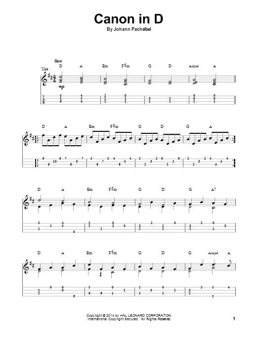 Canon In D Sheet Music Ukulele Pinterest Sheet Music Ukulele