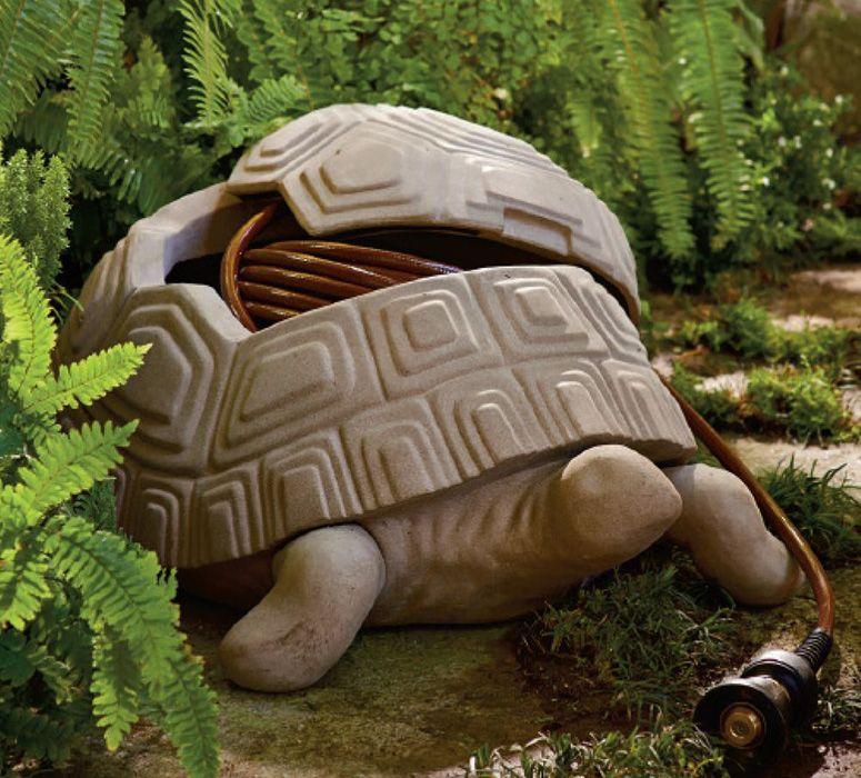 Superior Turtle Garden Hose Hider