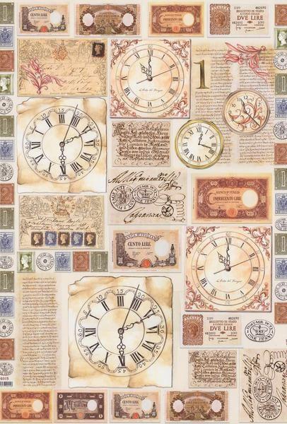 Pin de Maria L em ZEGARY | Lâminas vintage, Livro de ...