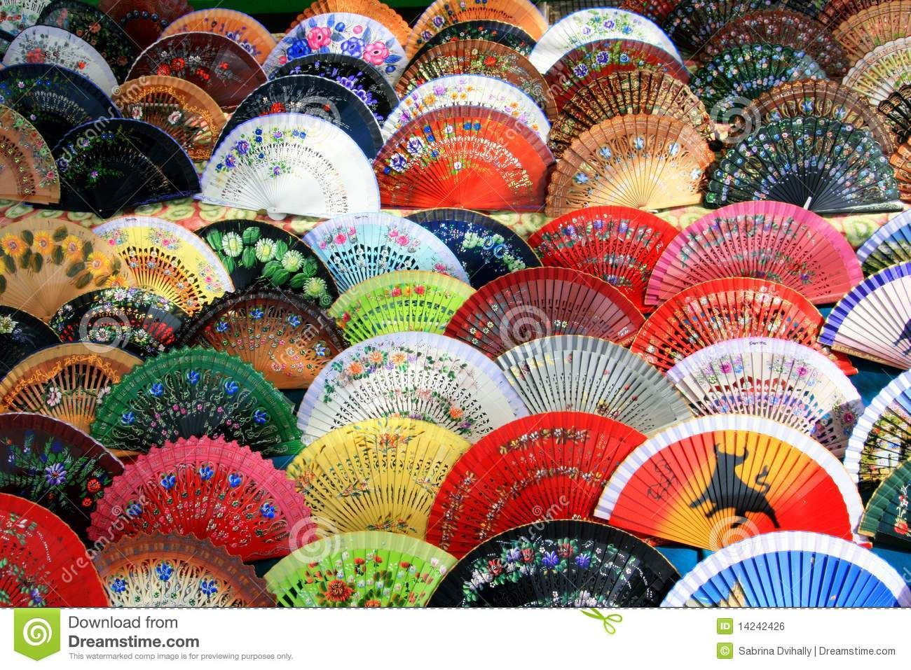 Authentic spanish fans royalty free stock image spanish authentic spanish fans royalty free stock image spanish colorful fan background andalusia voltagebd Gallery