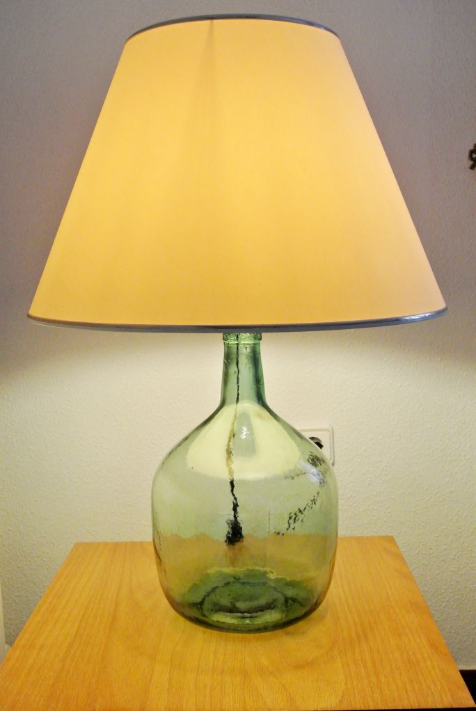 Como Hacer Una Lampara Con Una Botella Lampara Reciclaje De