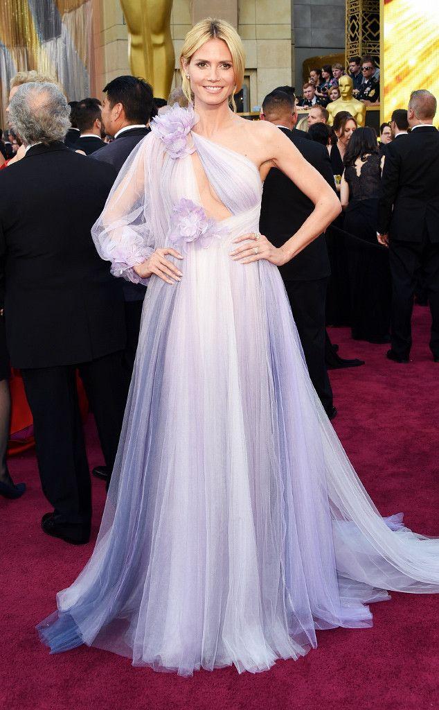 Les stars les plus mal habillées des Oscars 2016 : Heidi Klum, Kerry