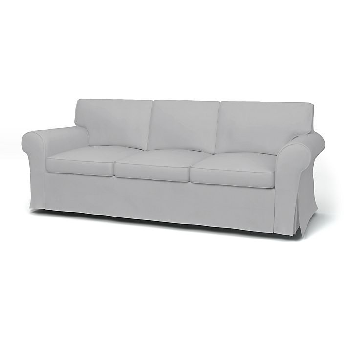 Rp Sofa Covers 3 Seater Regular Fit Using The Fabric Panama Cotton Silver