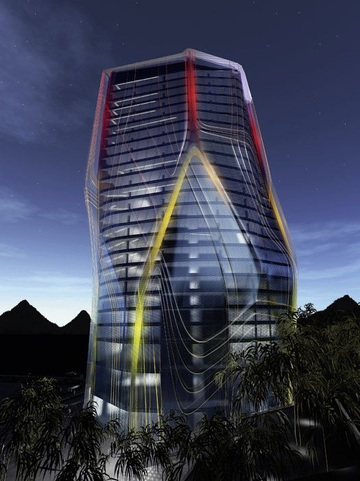 Huaxi Urban Centre Tower in Guiyang, China #architecture ☮k☮