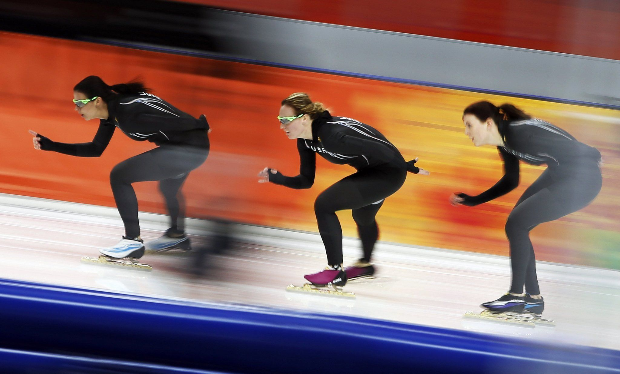 Aerospace firm Sigma Space Corp. has joined fellow Maryland companies  Under Armour  and  Lockheed Martin  in developing technology to help the U.S. Speedskating team at the Winter Olympics.