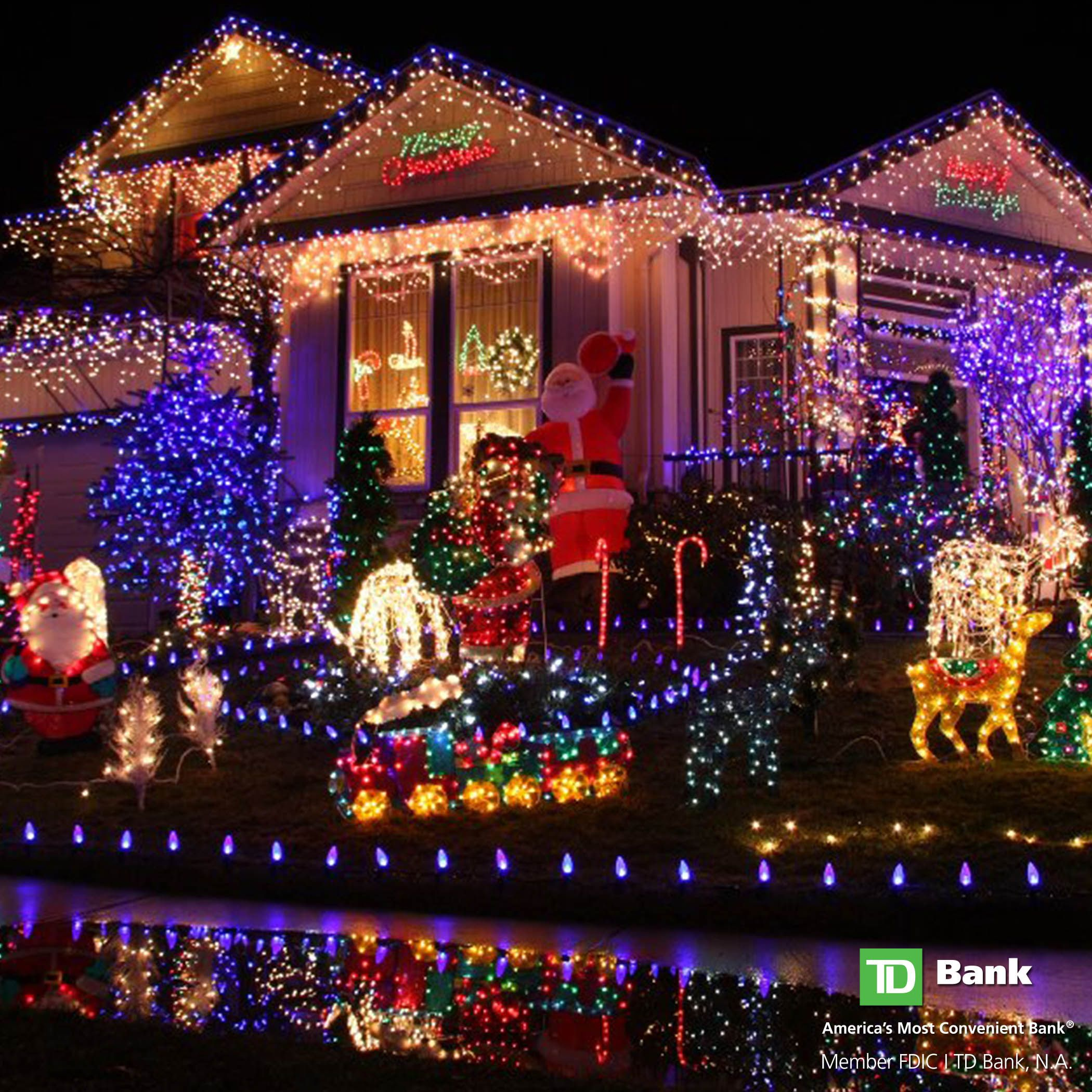 Tdhappyholidays Tip Put Your Lights On A Timer This Holiday Season It Saves You Money Best Christmas Lights Christmas Lights Outside Solar Christmas Lights