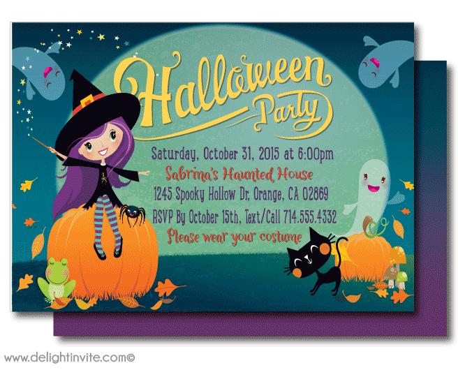 kid friendly halloween party invitation printables halloween