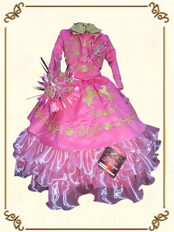 Pin de Girl Quinceanera en Mexican Little Girl Dresses | Pinterest
