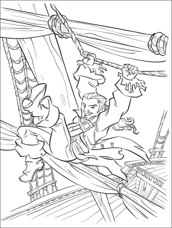 will turner in coloring pages of the