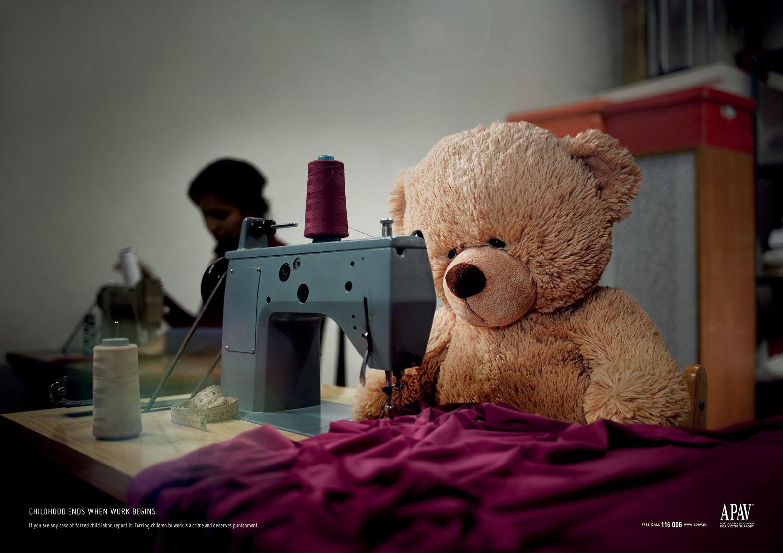 APAV Ad: Teddy, Teletubbies