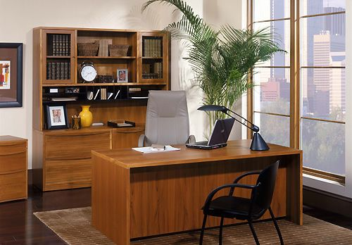 Teak Office Furniture Set