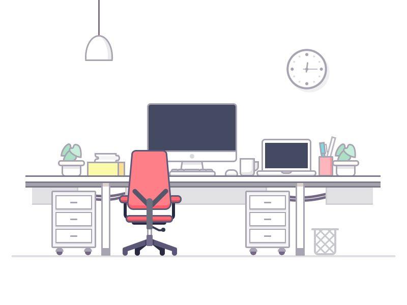 desk by Rwds #Design Popular #Dribbble #shots