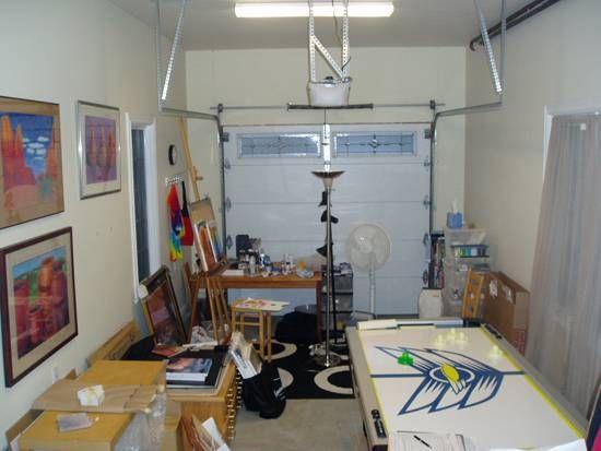Converting Garage Into Art Studio