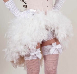 Feather Bustle Skirts, Quality Feather Skirts For A Perfect Show Girl Costume. Burlesque Hen Night Costume