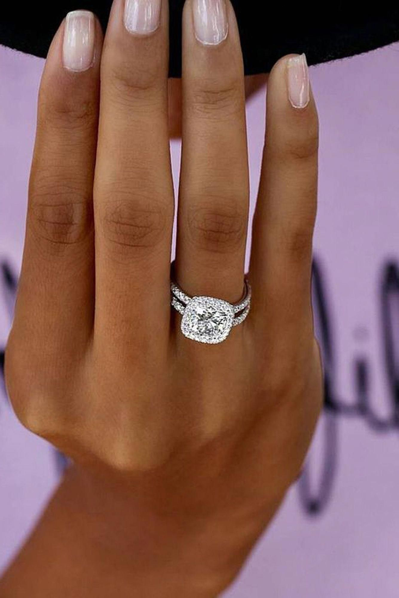 Cute Crystal Diamond Engagement Promise Graduation Rings Ring Www