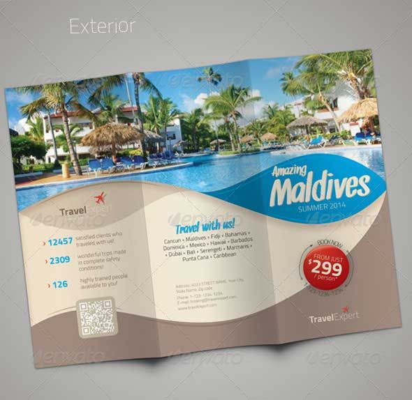 I kind of like the curved, colored shapes here but not covering - travel brochure
