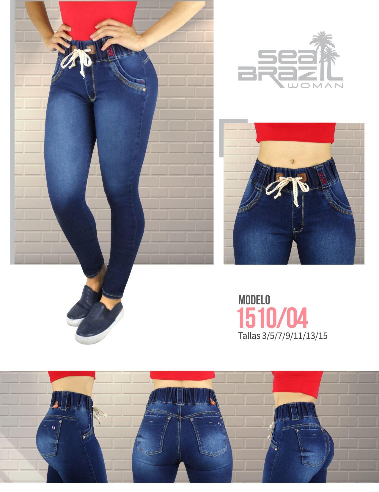 6f3dac1f38 Estos  jeans de nuestra línea  sport fueron creados pensando en las chicas  que les