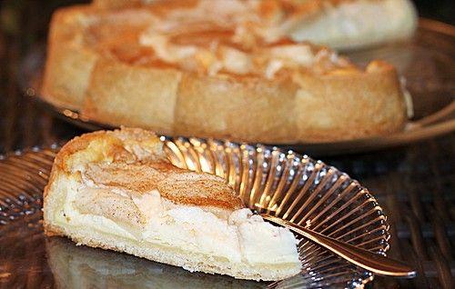 Apfel Quark Kuchen Mit Zucker Und Zimt Backen Kochen