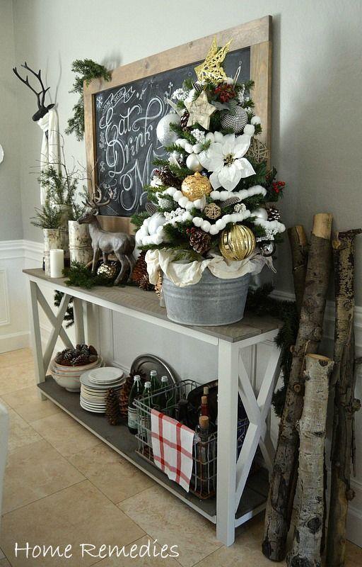 decoracion-navidad-con-venados- (20) Curso de organizacion de - decoraciones navideas para el hogar