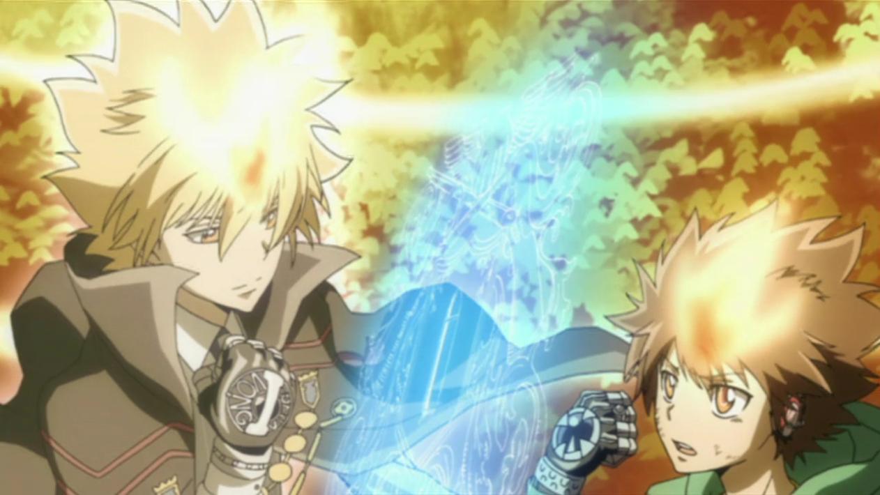 Katekyo Hitman Reborn Ost Tsuna Awakens Anime