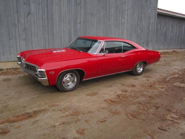Autotrader Classics 1967 Chevrolet Impala Coupe Red Other Other
