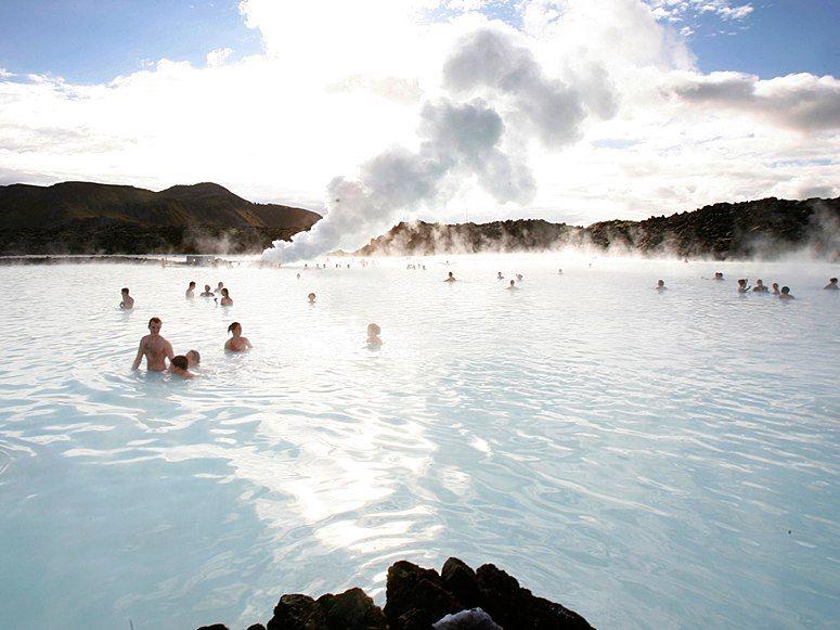 Blue Lagoon....public baths, Iceland-style