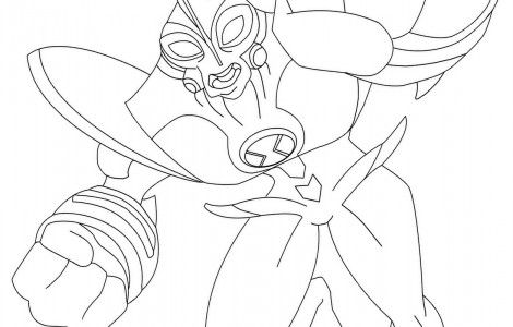 Ben 10 Ultimate Way Big Coloring Pages | stuff for the boys ...