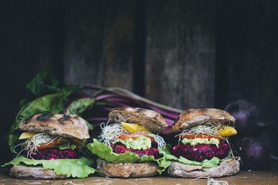 Beet and Feta Burgers recipe on Food52.com