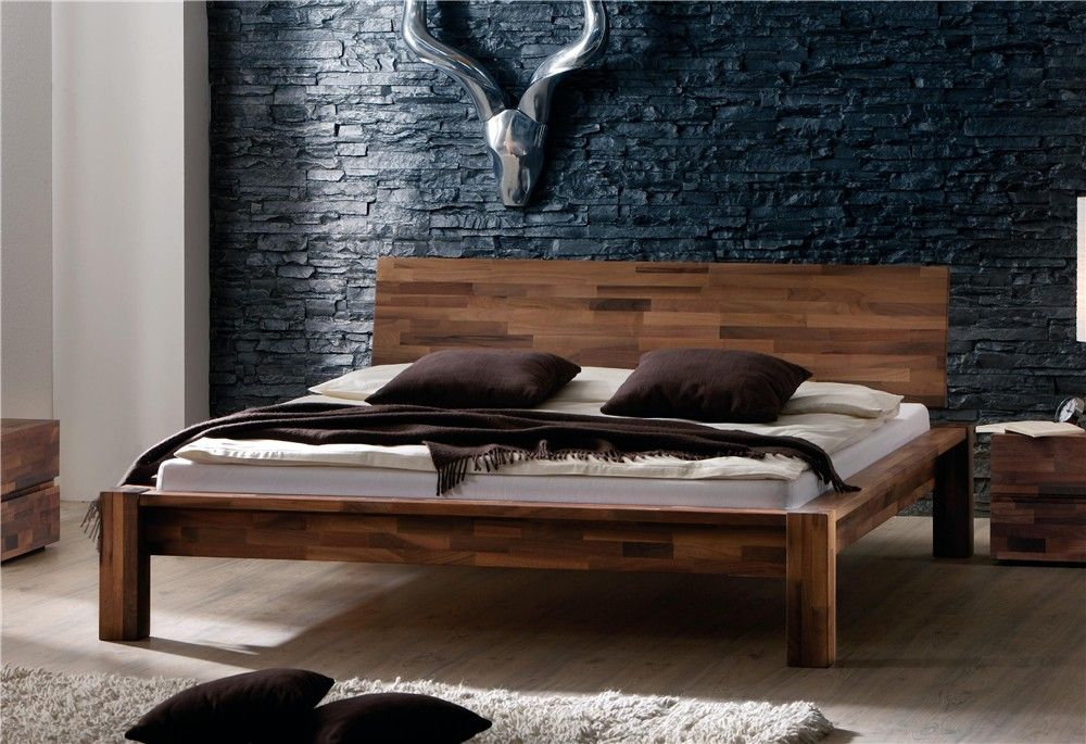 Hasena Ciliano   Varus Solid Walnut Wooden Bed   Head2Bed UK. Hasena Ciliano   Varus Solid Walnut Wooden Bed   Head2Bed UK