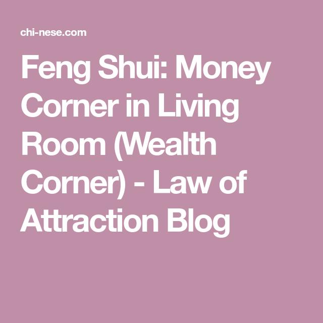 Feng Shui: Money Corner in Living Room (Wealth Corner) - Law of ...