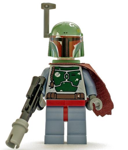 LEGO UCS STAR WARS MOC Boba Fett Helmet only digital instructions